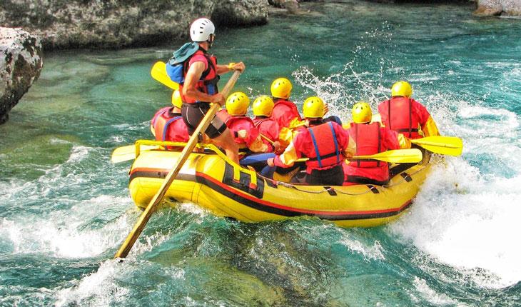 Rafting in Trishuli