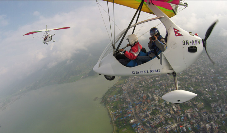 Ultra Light Aircraft in Nepal
