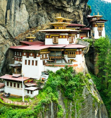 bhutan tiget nest
