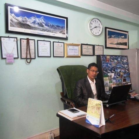 Hom Bahadur Bishwokarma - Tourist Link Trek